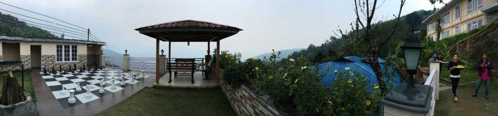 Panaromic View of Ghonday Village Resort