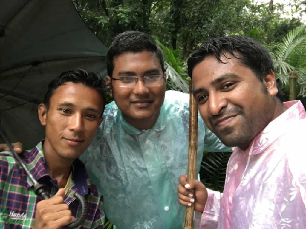 We With Our Guide Manbha
