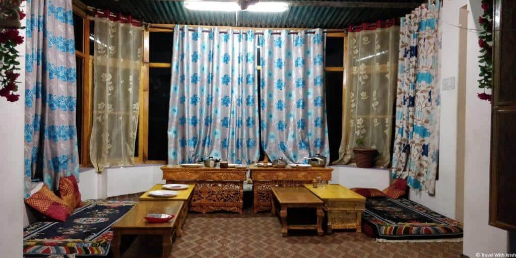 Shayok Guest House - Dining Room - Nubra Valley