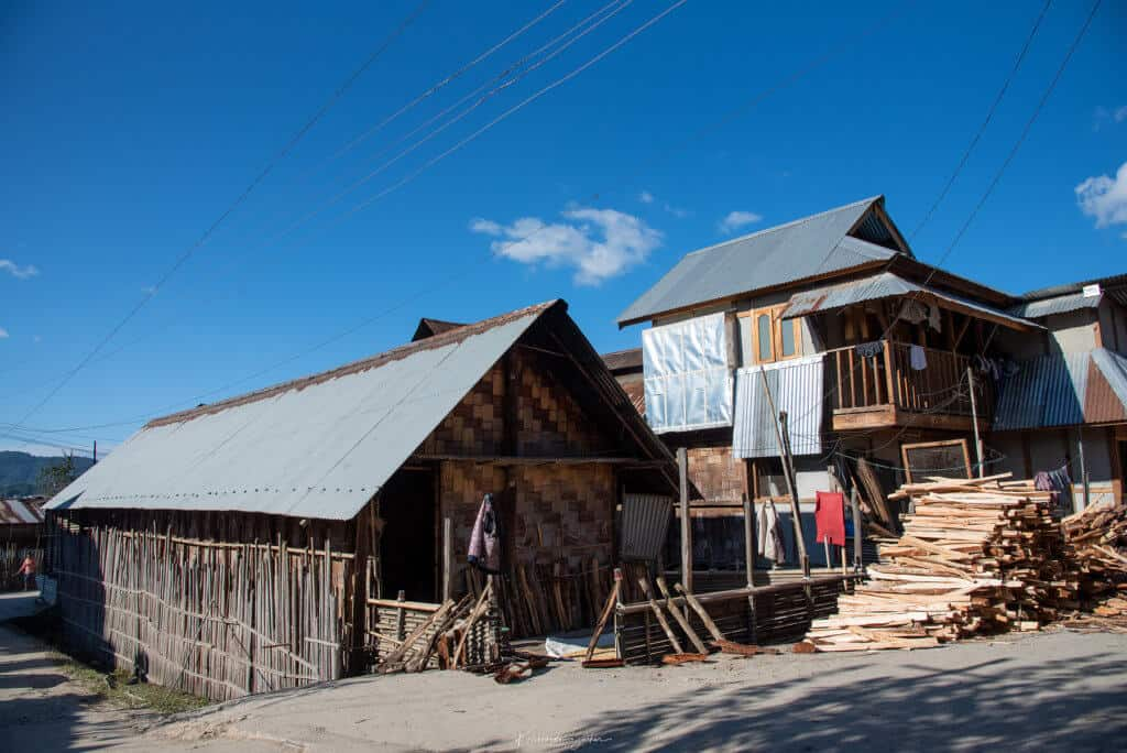 Traditional Apatani Huts, Ziro